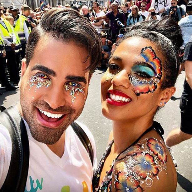 Dr. Ranj Singh shows his love side in an Instagram snapshot