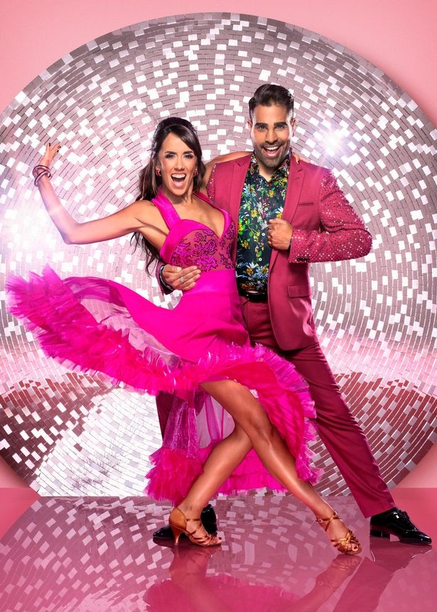 Dr Ranj Singh on Strictly Come Dancing in 2018 with Janette Manrara