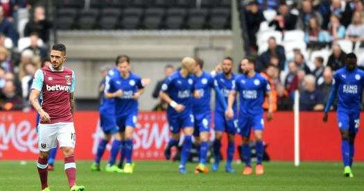 Image result for WESTHAM VS LEICESTER