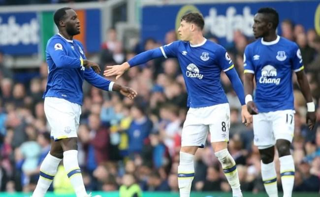 Everton 4 2 Leicester City Lukaku Leads Fightback As