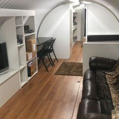 Long Living Room Layout L Shaped Furniture Placement 'nuke Proof' Underground Backyard Bunkers Modelled On ...