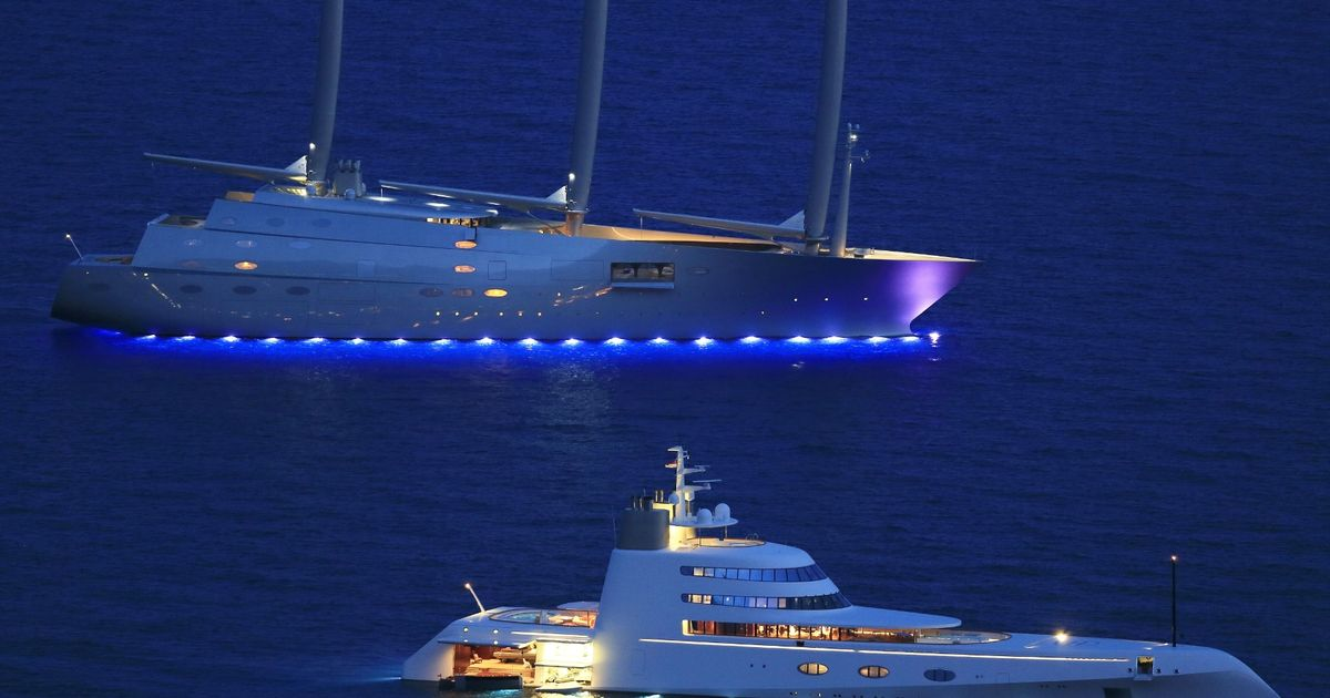 Why Have One Superyacht When You Can Have Two Russians