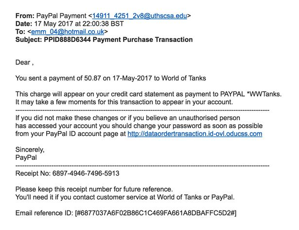 Paypal Scams And How To Spot Them The Fake Emails That Have Tricked Brits Out Of Thousands Mirror Online