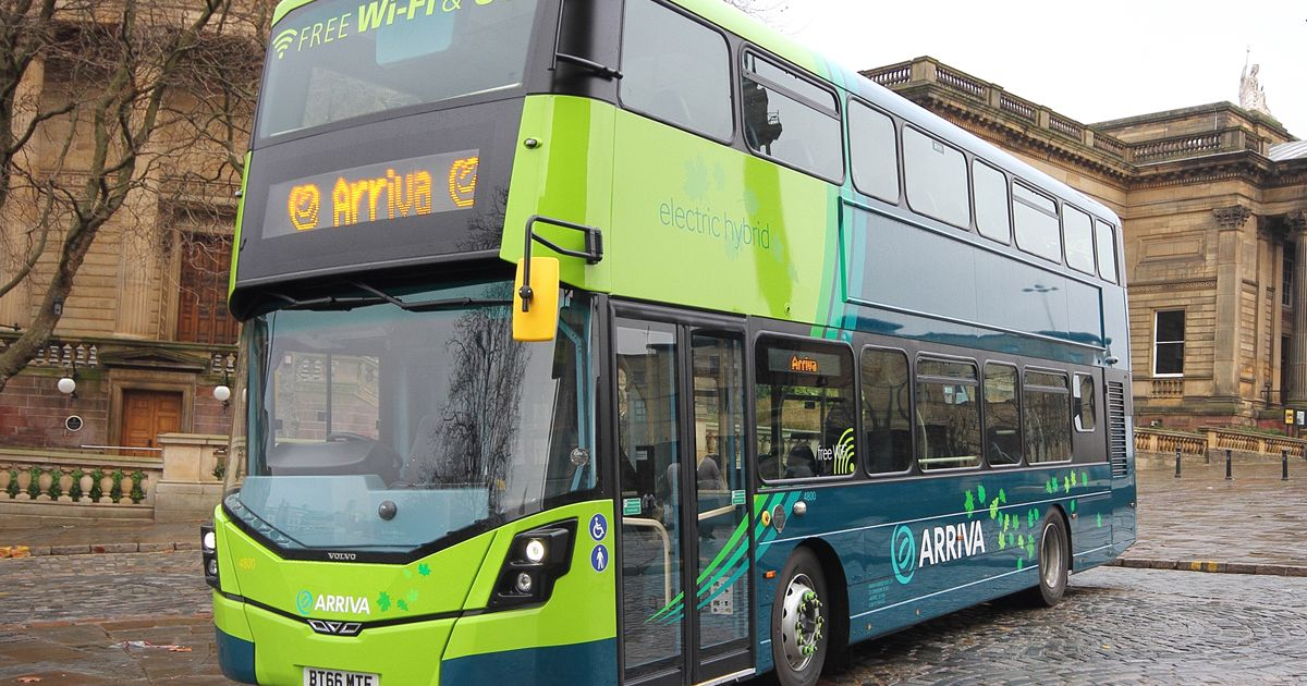 Celebrate National Catch The Bus week with £1 bus tickets on Arriva buses across the UK - Mirror Online