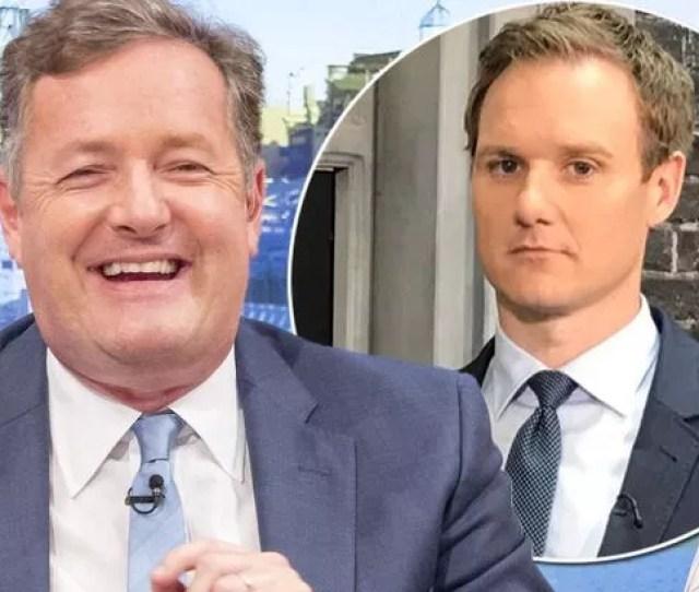 Piers Morgan Trolls Bbc Breakfast Again As He Ribs Rival Dan Walker For Presenting News Item On Spam
