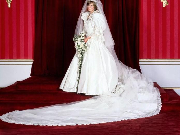 Image result for princess diana's wedding dress