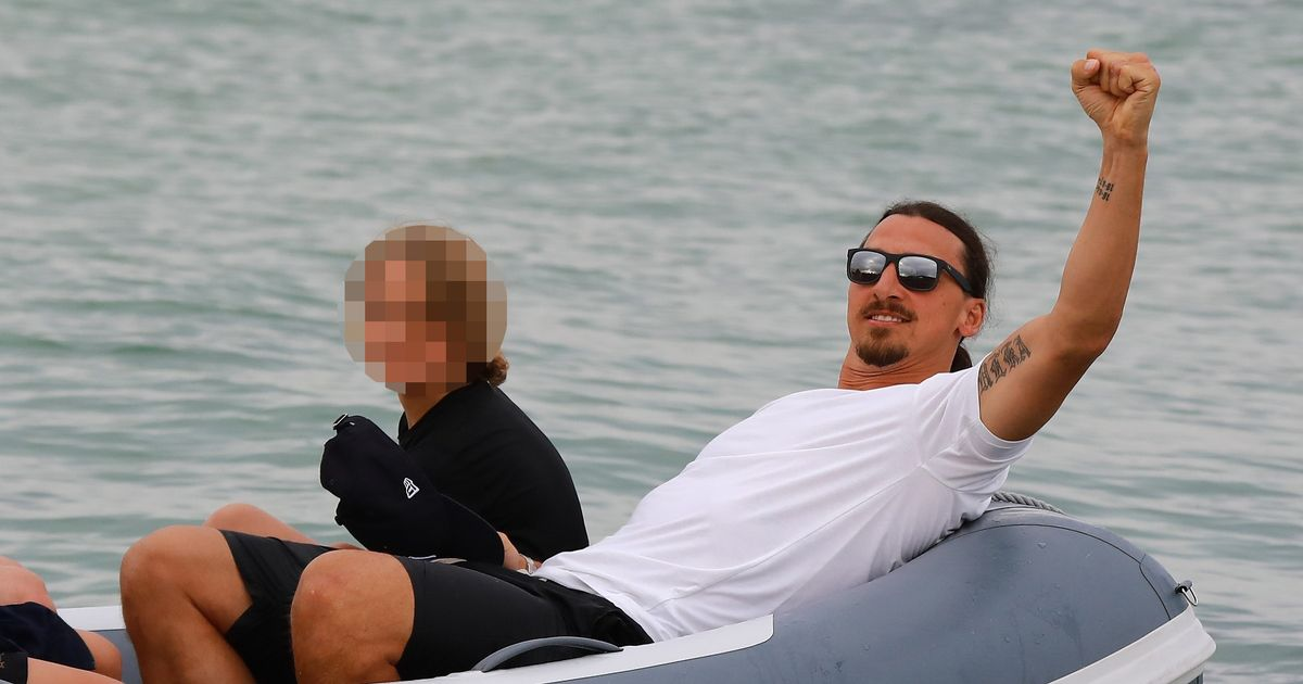 Zlatan Ibrahimovic Relaxes In St Tropez As Man United Ponder Potential Coaching Role For Swede Irish Mirror Online