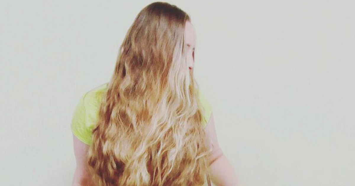 Real Life Rapunzel Who Gave Up Cutting Hair Can Now Wear