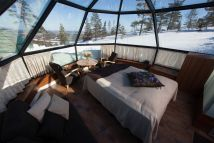 Luxury Glass Igloos Offer Incredible Views