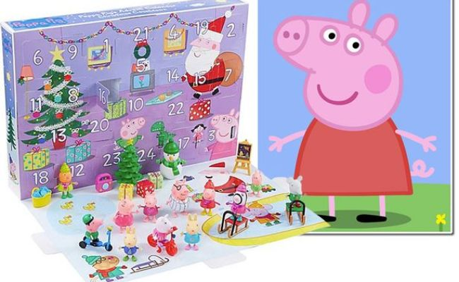 Asda Is Launching A Peppa Pig Toy Advent Calendar And It