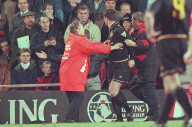 In january 1995, the french forward eric cantona shocked football by. Eric Cantona S Kung Fu Kick Eyewitness Accounts From Selhurst Park 20 Years On Mirror Online