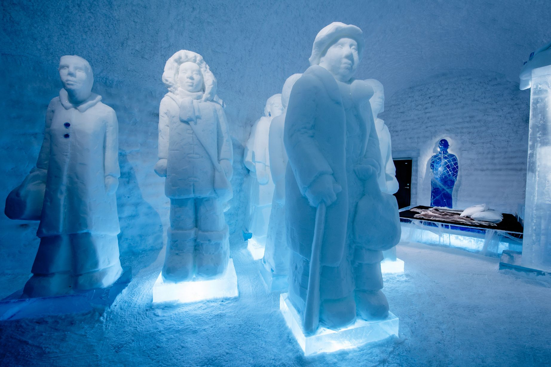 Inside The Incredible Ice Hotel In Sweden Where Guests Get