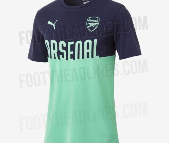 A Rumoured Training Shirt That Arsenal Could Be Wearing Image Footyheadlines Ws