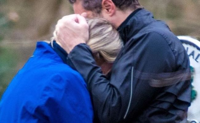 Zoe Ball Comforted By New Lover After Appearing To Suffer