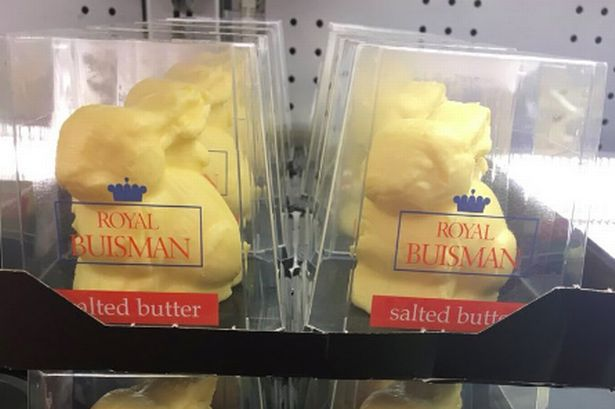 Morrisons is selling easter bunnies sculpted entirely out of morrisons is selling easter bunnies sculpted entirely out of butter negle