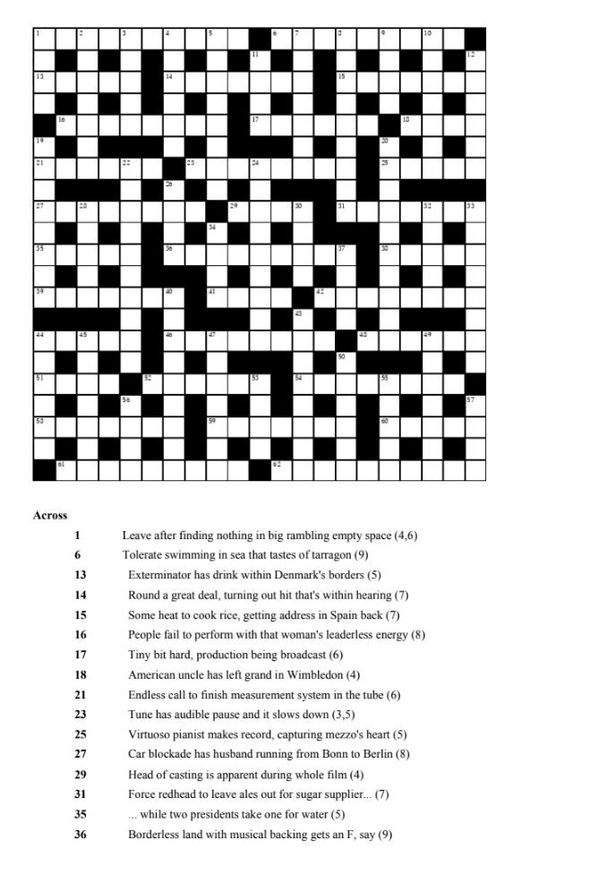 'World's hardest ever crossword' that takes two years to