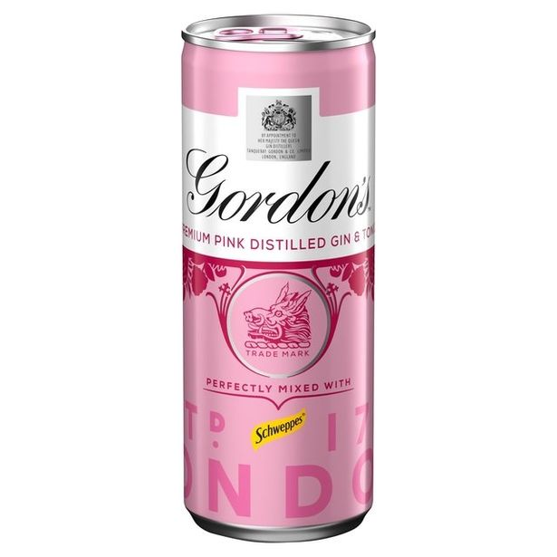 Gordon's has just released pink gin in a can - but you can ...