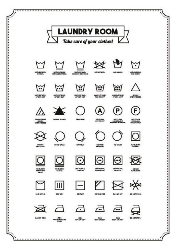 Wash Symbols And Meanings wwwimagenesmicom