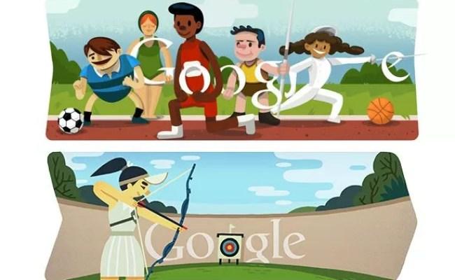 Olympics 2012 The Google Doodles Of London 2012 Mirror