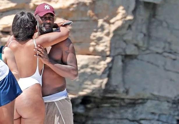 Idris Elba Puts On VERY Sexy Display With Thong Bikini