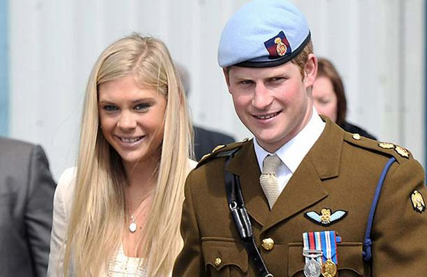 Prince Harry and Chelsy Davy (photo: Rex)
