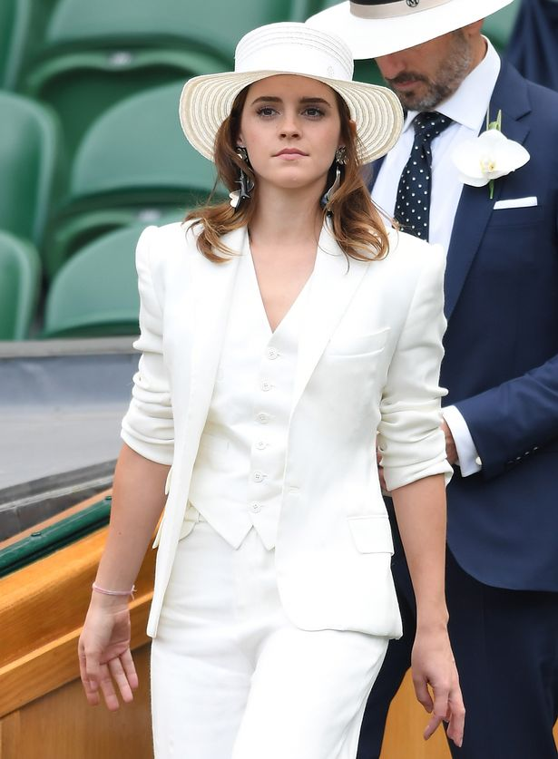 Wimbledon 2018s best dressed celebrity guests  from Erin