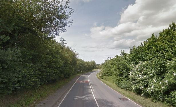 Cooper lost control on a right hand bend on the A161 from Belton to Epwort (general view) (Image: xxxxxxxxx WS)