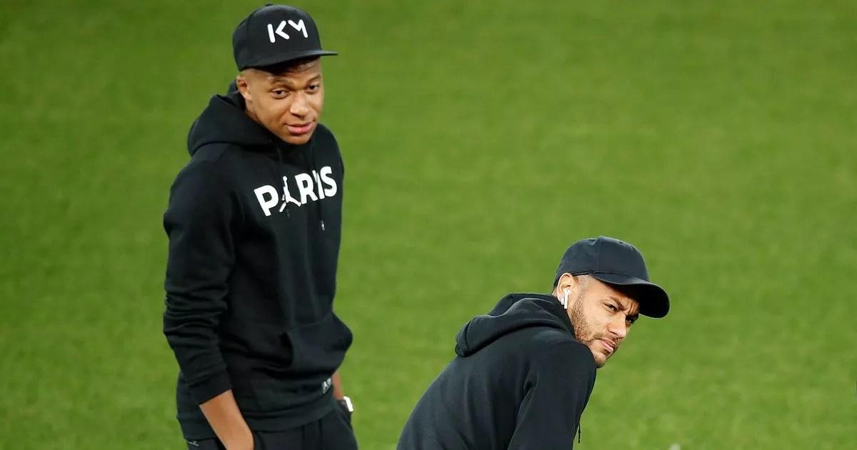 neymar and kylian mbappe unveil psg x