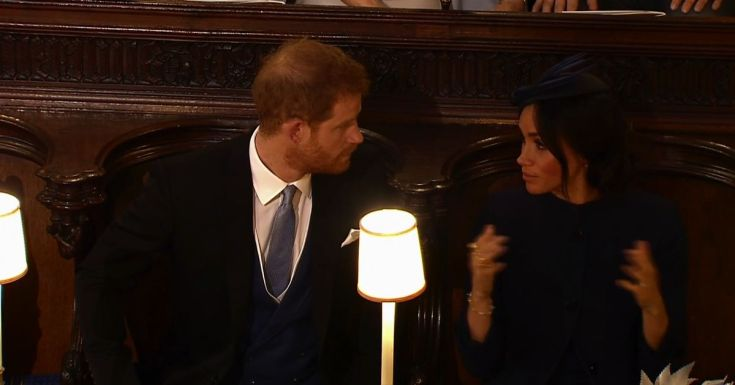 What really happened during Harry and Meghan's 'royal tiff' at Eugenie's wedding