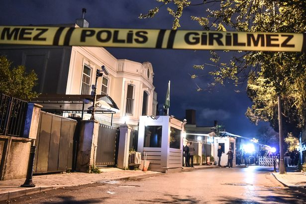 Turkish police have cordoned off the residence of the Saudi consul following the journalist's disappearance