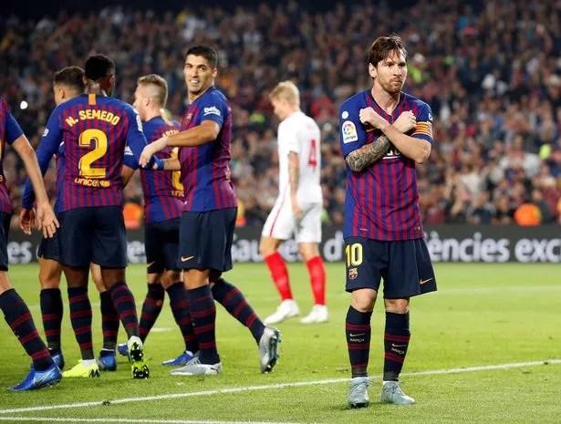 Kết quả hình ảnh cho Barca sevilla