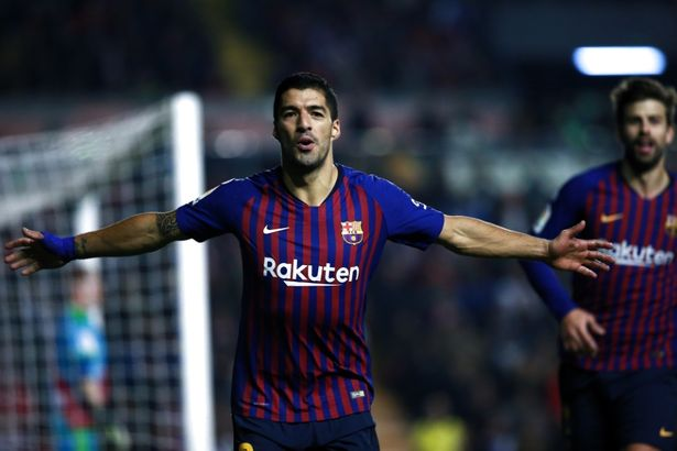 Follow game rayo vallecano vs barcelona live stream and score online, information, prediction, tv channel, lineups preview, start date and. Rayo Vallecano 2 3 Barcelona Report As Luis Suarez Nets Late Winner For Catalan Side Mirror Online