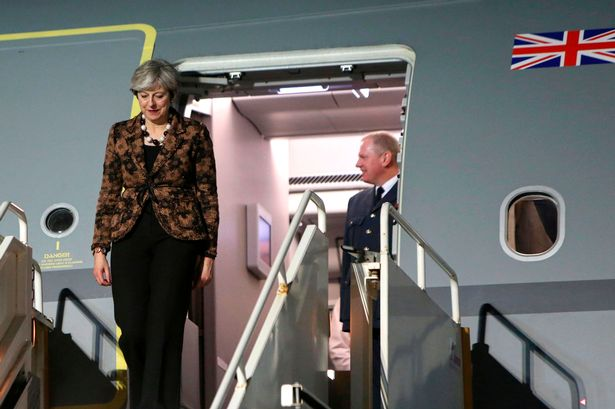 British Prime Minister Theresa May visits Northern Ireland in bid to win support for Brexit deal//(Image: AFP/Getty Images)