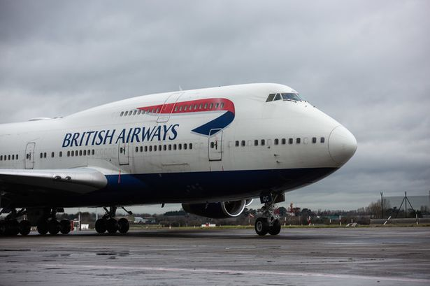 british airways changes boeing