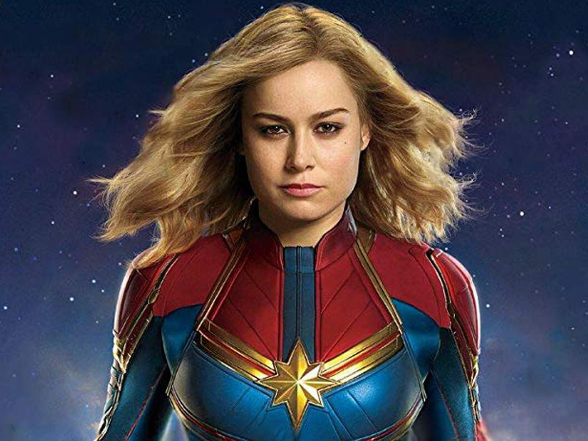captain marvel review: brie larson has girl power to spare in
