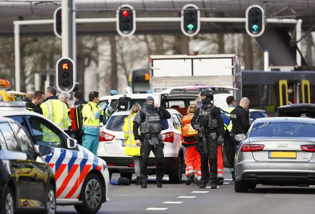 Several people have been injured following a shooting in Utrecht (Image: AFP/Getty Images)
