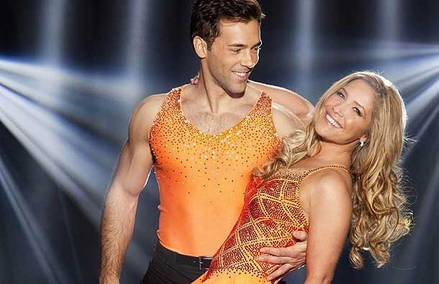 childrens sofa leah bed lazy boy heidi range and jennifer ellison lead the dancing on ice ...