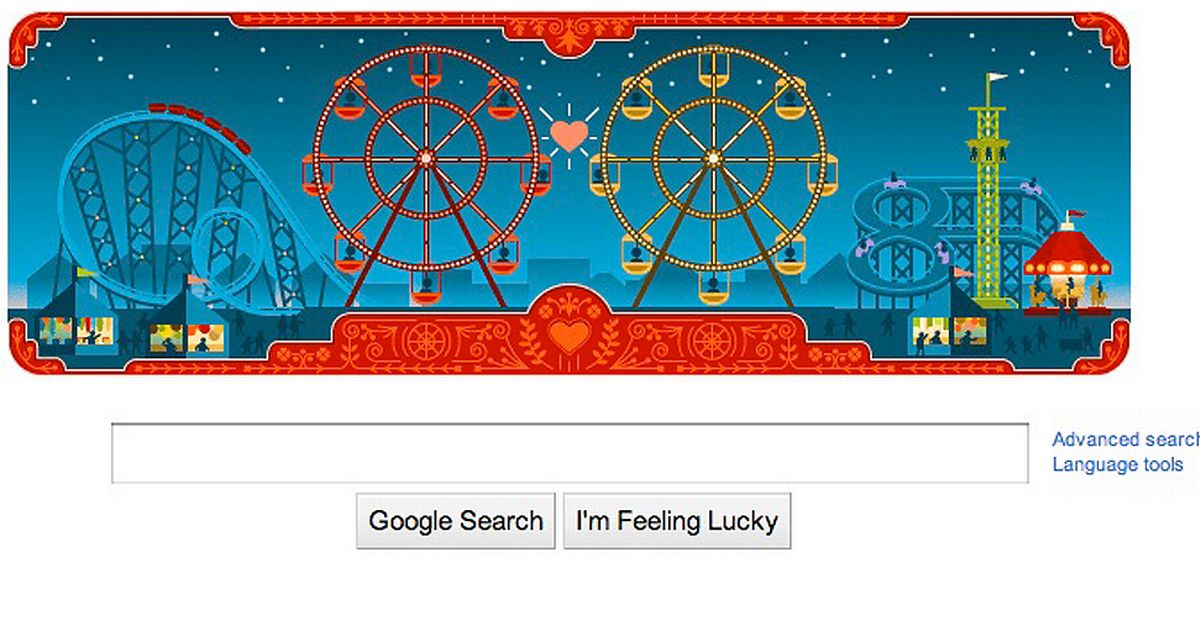 Valentines Day Google Doodle Also Marks Birthday Of