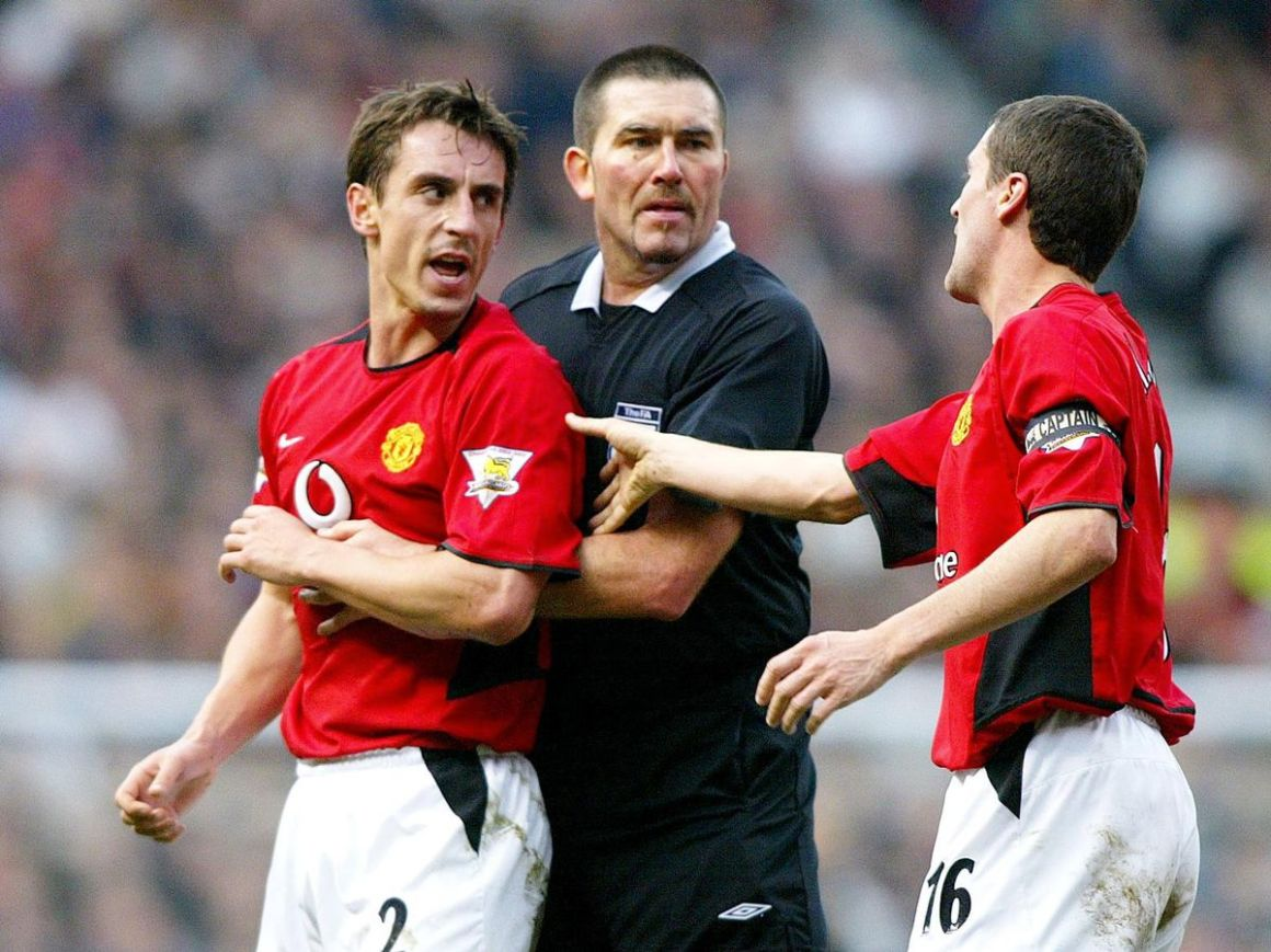 """Gary Neville recalls moment he knew """"that was it"""" for Roy Keane at ..."""
