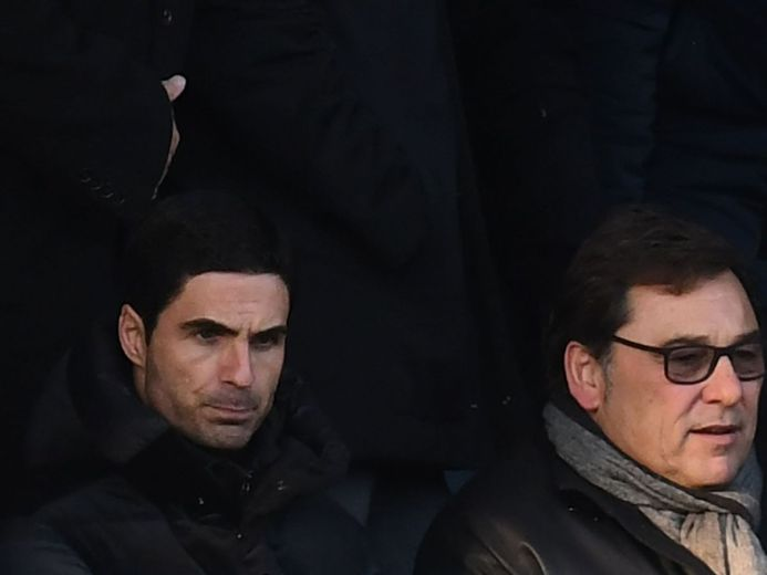 Arsenal chief Raul Sanllehi tasks Mikel Arteta with top-four ...