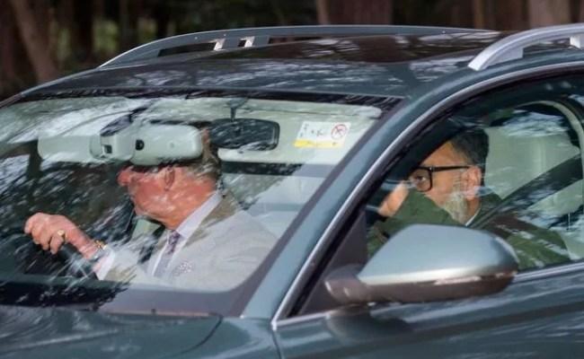 Breaking Prince Charles Seen Leaving Sandringham After