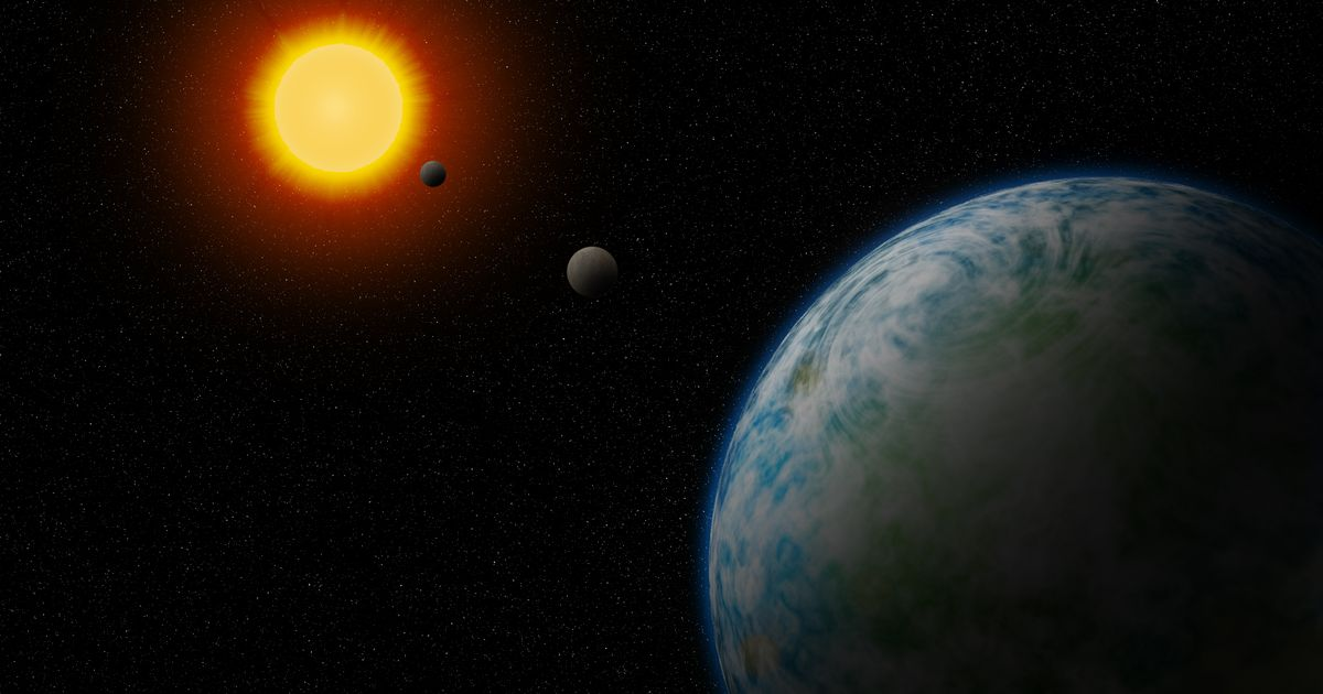 """Scientists discover two """"super-terrestrial"""" planets that could harbor alien life"""