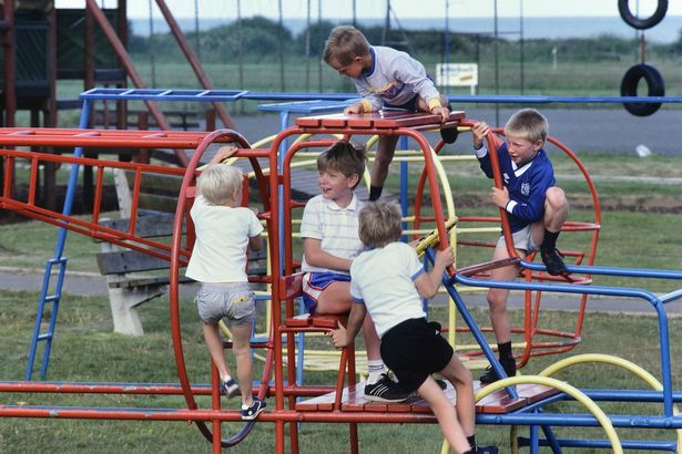 Pakefield's children's playground has been modified to accommodate older guests