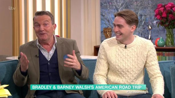During today's This Morning episode, the star promised Holly and Phillip that the horrible accident was not as bad as it seems