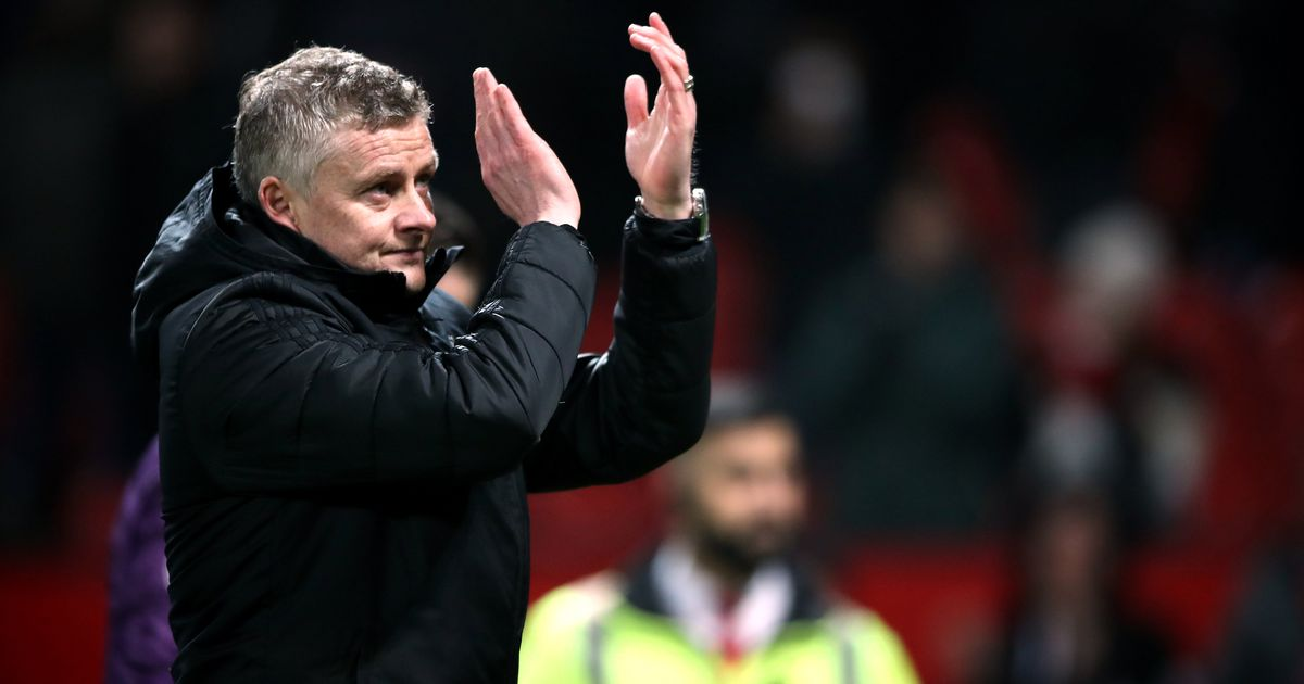 Ole Gunnar Solskjaer mentions the Man Utd clearout after Burnley's defeat
