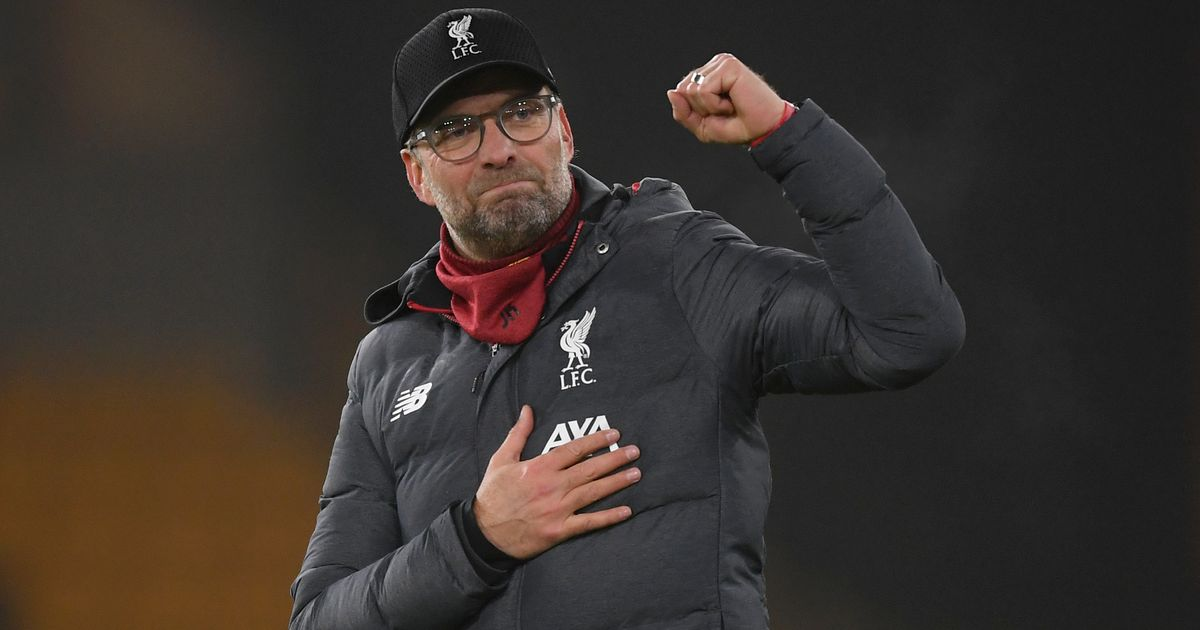 "Jurgen Klopp says goodbye to Liverpool's ""perfect reaction"" at the end of the victory over the wolves"
