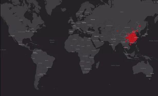 Coronavirus live tracker: Killer virus reaches UK - how far has it ...