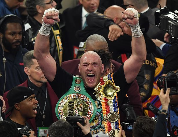 Fury defeated Wilder and won the WBC title