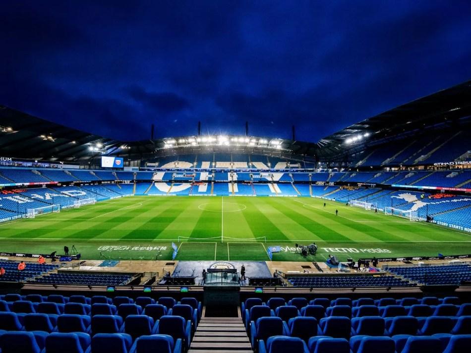 Coronavirus: Manchester City's Etihad Stadium to be used by NHS ...