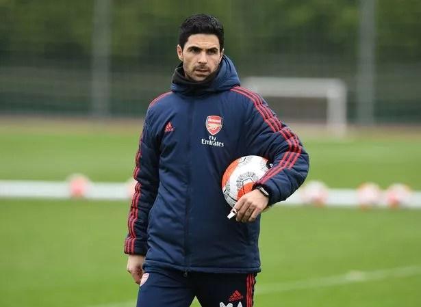 Arteta focuses on season run-in with players